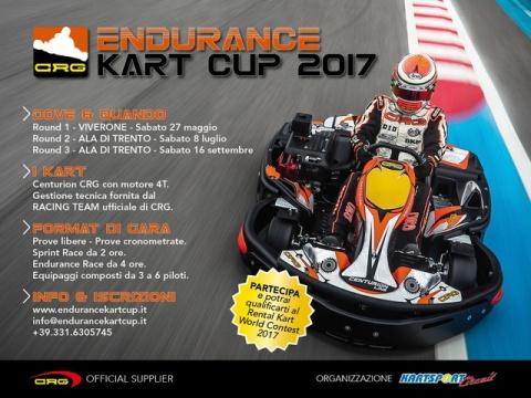 CRG partner of the Endurance Kart Cup