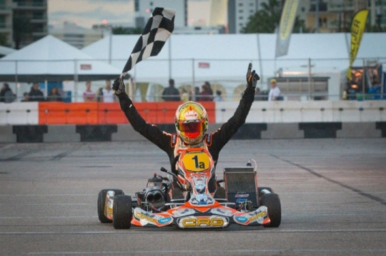 Another victory for CRG:  De Conto hitting the jackpot in Las Vegas