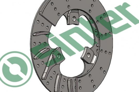 New Nodular Cast Brake Rotors by Sinter