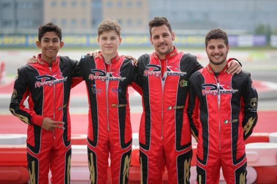 DR Racing Kart shows top speed in Adria