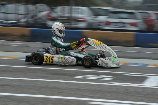 Gamoto Kart is the Italian champion in X30 Junior