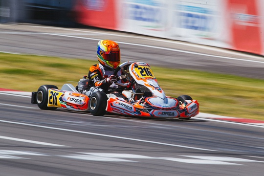 CIK-FIA European Championship, Alaharma – OK Junior final