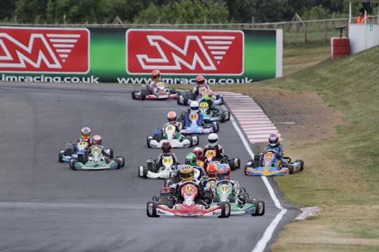 Exciting halftime of Rotax Max Euro Challenge at PF