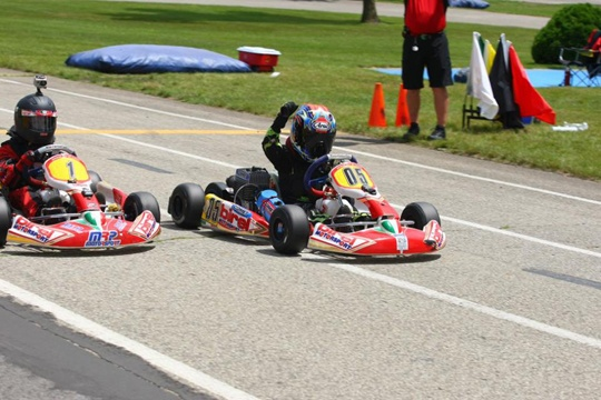 BIREL JUNIOR TEAM LOG 6 WINS AND 20 PODIUMS DURING WKA MANUFACTURER'S CUP