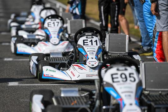 Test drive the Rotax Project E20 e-Kart