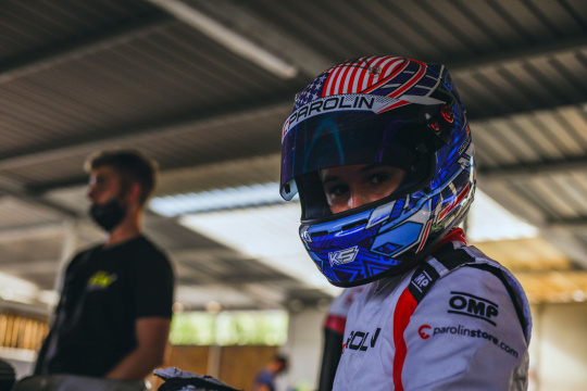 Kai Sorensen makes his debut in OKJ on the Adria circuit!