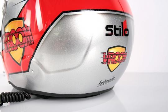 helmade official helmet design partner of Vroom