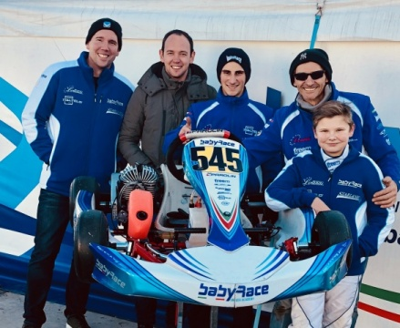 Tom Braeken with Baby Race for 2019