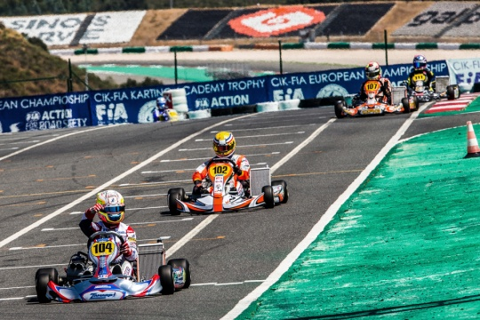 2016, the last time OK raced in Portimao