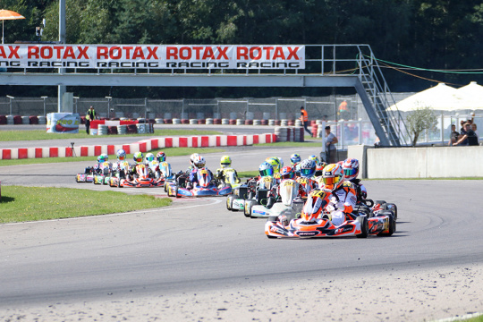 Exciting showdown confirms Rotax Euro Trophy champions