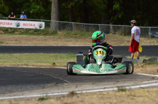 Walker Hess joins Team Koene USA for ROTAX competition
