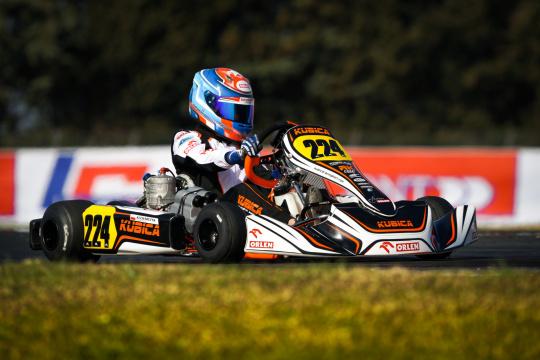 OK podium at La Conca with Kucharczyk