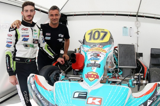 Great success for the Italian ACI Karting Championship in Triscina