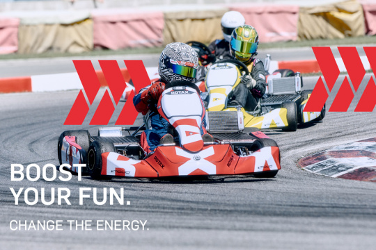 Become the first ever RMCGF E-Kart Champion