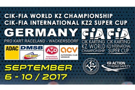 Gearbox world titles in Wackersdorf