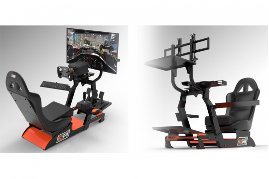 """Max Papis launches Sim Max: the """"PRO"""" Sim Racing station for everyone"""