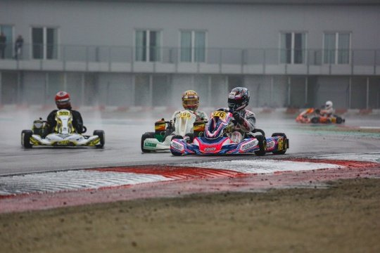 RMCET, Adria - The rain surprised everyone in the Qualifying Practices