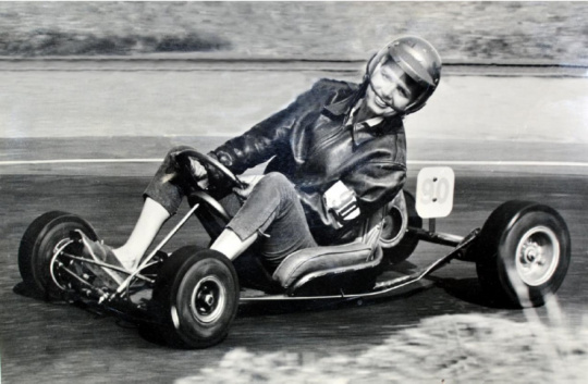 The Queen of Karting, Faye 'Ladybug' Pierson has passed away