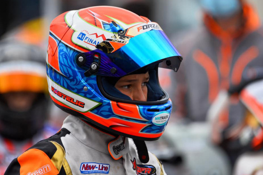 Mark Kastelic made his FIA European Championship debut