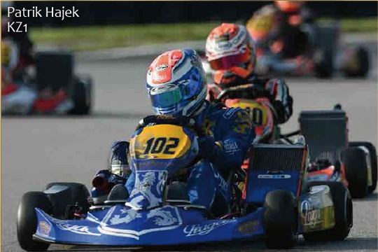 PRAGA WINS IN KZ2 AT THE WSK MASTER SERIES