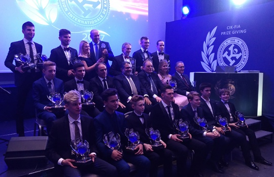 2017 CIK-FIA Prize Giving Award