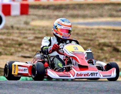 Ronnie Quintarelli will race the CIK-FIA World KZ Championship in Wackersdorf