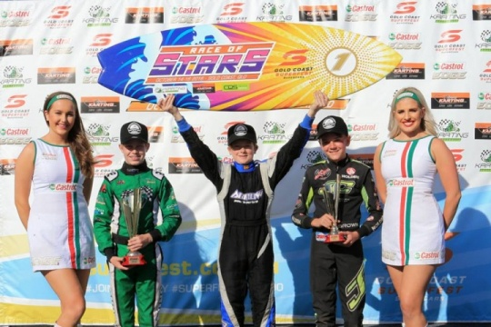 Qualifiers for 2017 Race of Stars