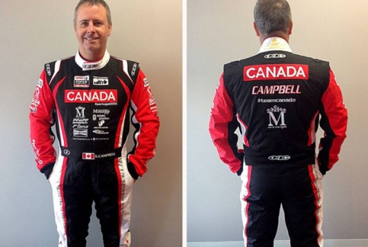 Team Canada unveils gear for the RMCGF in Portimao