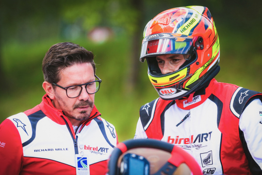 Riccardo Longhi is the new Birel Art Team Manager