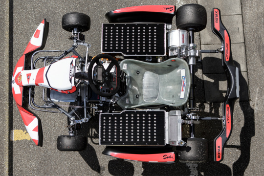 On Vroom in June the test of the electric Rotax