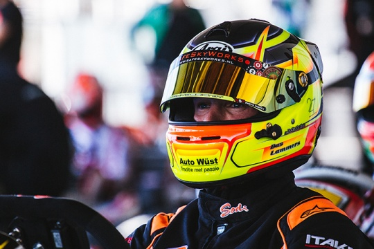 Sodi attacks the European Championship with a podium