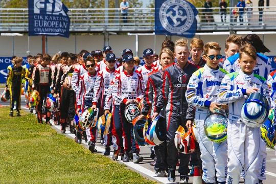 CIK-FIA European Championships, Sarno – Video report