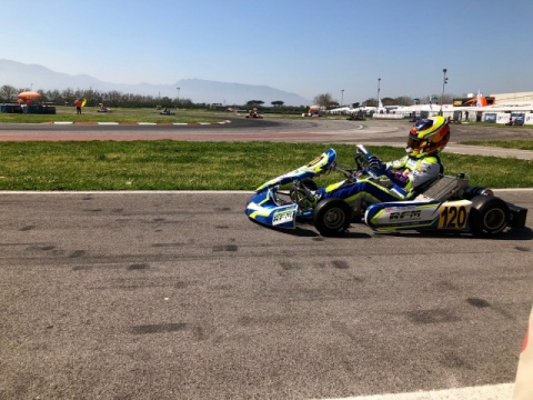 Kart Grand Prix of Italy - Saturday: Thompson dominant in OK, Aron shined in OKJ