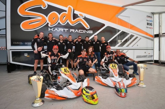 Sensational victory for Sodi in WSK Super Master with Lammers