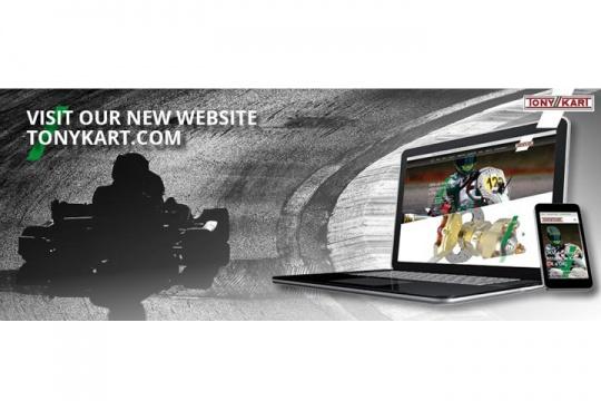 The new TONYKART.COM website is now online