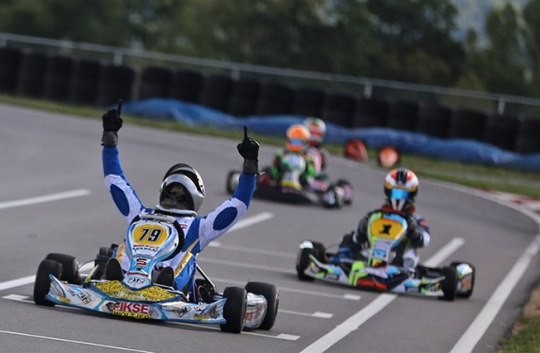 Strong series finale for Top Kart USA