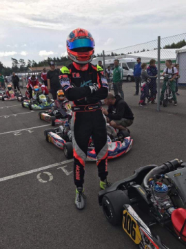"WSK Super Master Series - ""The first time"" of Hannes Janker"