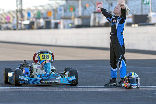 Dan Wheldon's sons join the Andretti Autosport Program