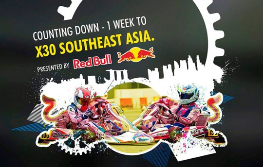 X30 Southeast Asia is proudly presented by Red Bull