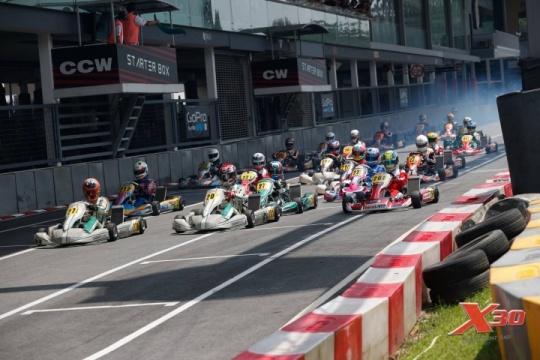 X30 Southeast Asia, KF1 Karting Circuit - Round 1, April 15/16