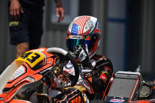 Kai Sorensen continues his racing season with the WSK Euro Series