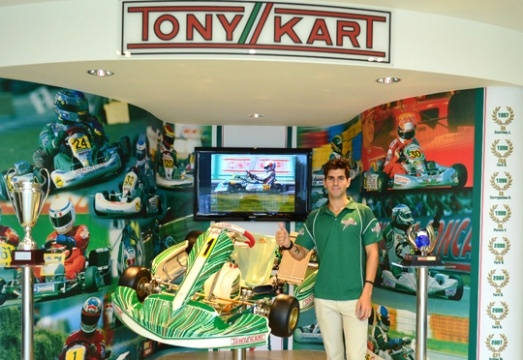 Alguersuari at the World Championship in KZ with Tony Kart Racing Team