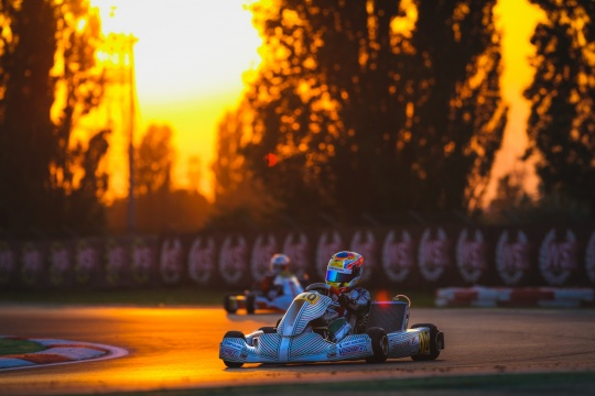 WSK Open Cup rd.2 - Qualifying