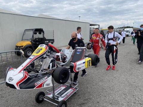 Formula 1's return via karts!
