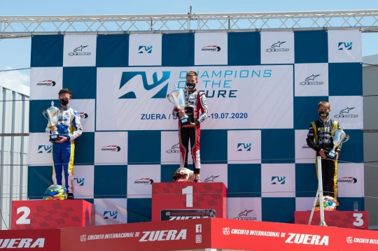 Champions Of The Future - Matveev, Lindblad, Day and Ippolito triumph in the race
