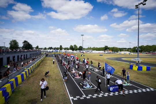 FIA Karting European Championship OK / OKJ - Zera preview