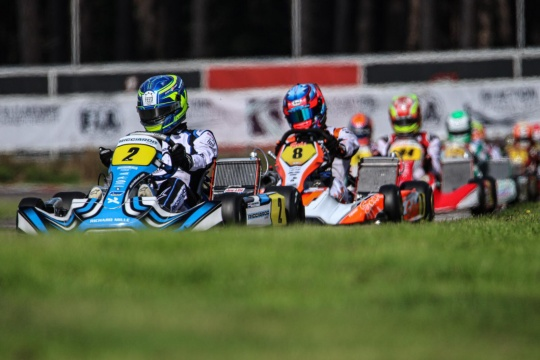 FIA Karting European Championship, heats - Kremers, Trefilov and Zachary on top