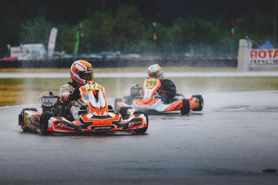Kaï Rillaerts commented the victory in the first round of the Rotax MAX Challenge Euro Trophy.