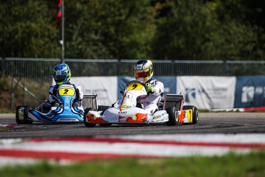 FIA Karting European Championship - Pex and Trefilov dominate the race, Kremers and Gustavsson champions!