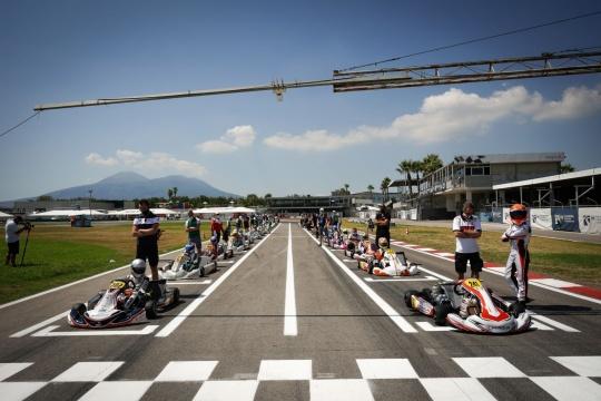 FIA Karting European Championship - Wackersdorf awards the Title